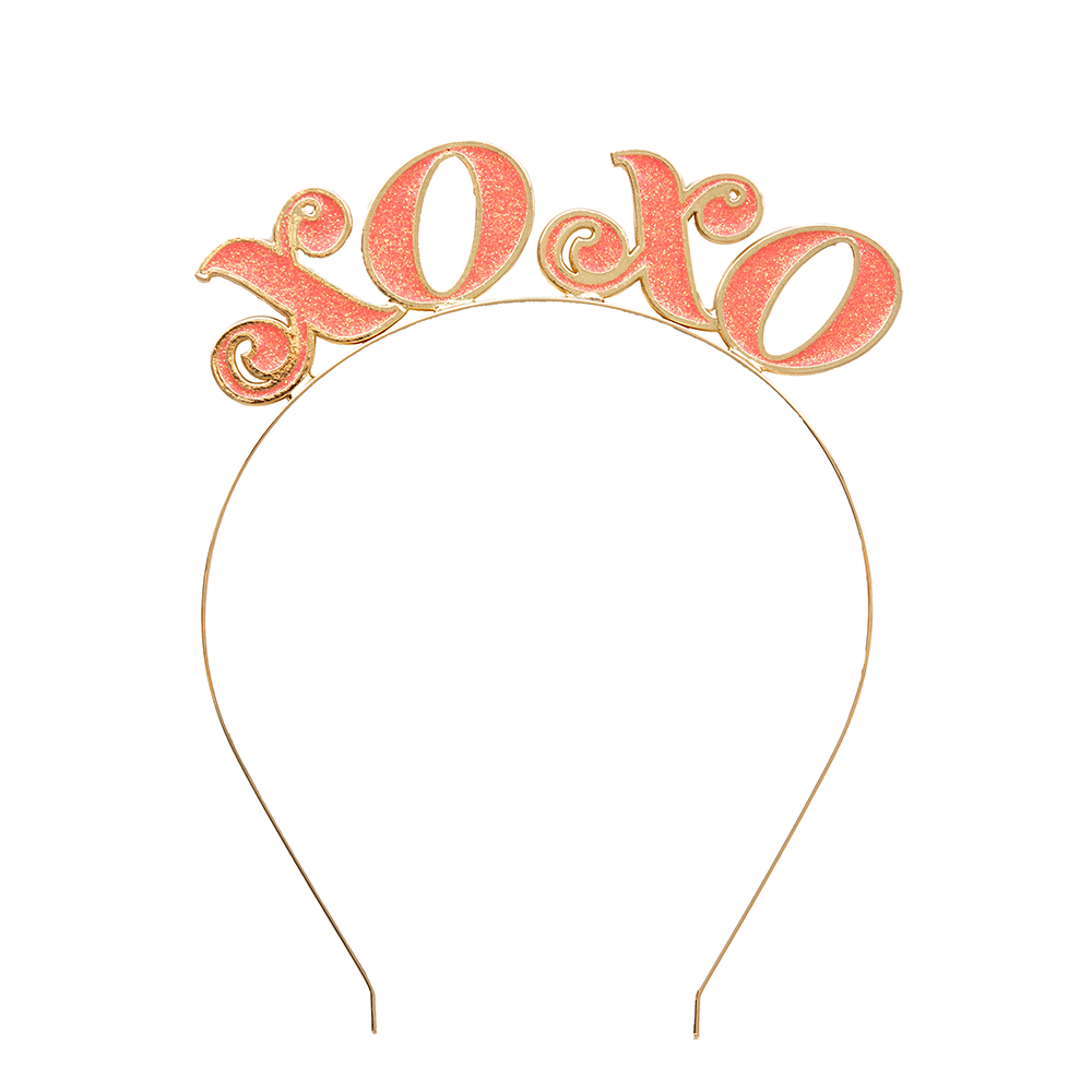 """XOXO"" Metal Headband from Jollity & Co"