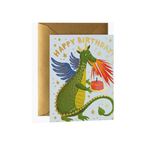 Dragon Birthday Card, Jollity & Co