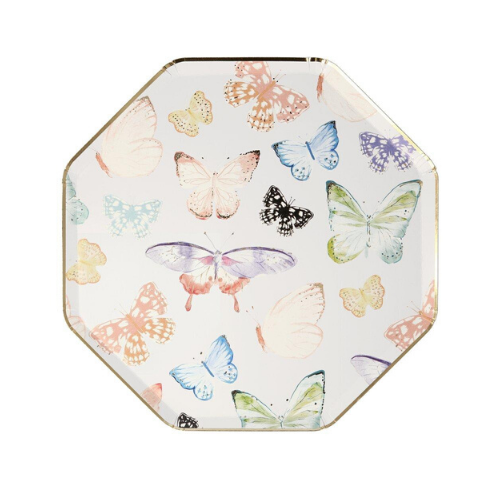 Butterfly Print Plates, Jollity & Co
