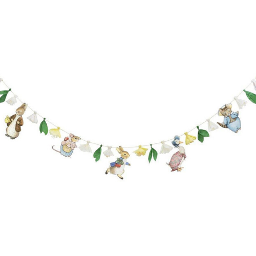 Peter Rabbit™ & Friends Banner, Jollity & Co