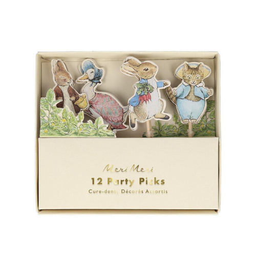 Peter Rabbit™ Party Picks, Jollity & Co