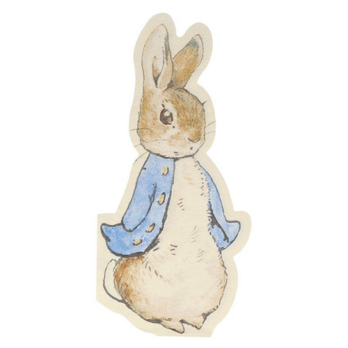Peter Rabbit™ Die-Cut Napkins, Jollity & Co