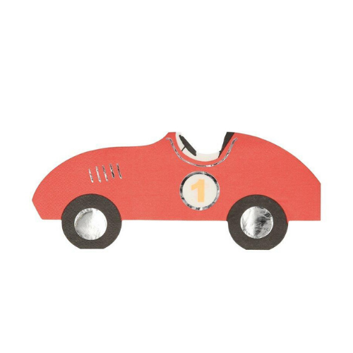 Die-Cut Race Car Napkins, Jollity & Co