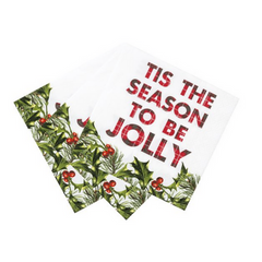 Tis the season to be jolly napkins