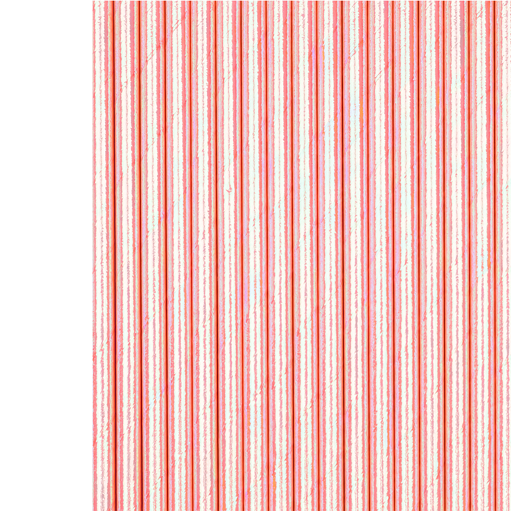 Just Peachy Foil Paper Straws from Jollity & Co