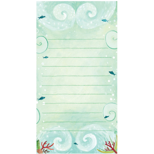 Mermaid Fold Note