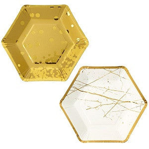 Metallic Hexagonal Plates