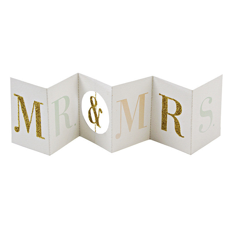 Mr. & Mrs. Gift Enclosure Card
