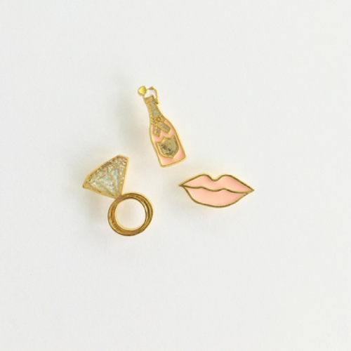 Bridal Enamel Pins