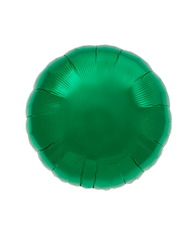 Green Round Balloons