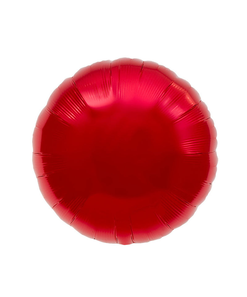 Red Round Balloons