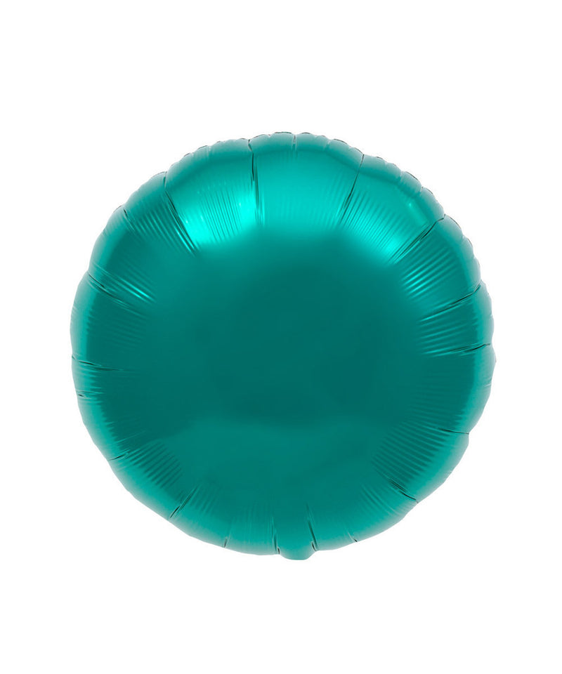 Teal Round Balloons