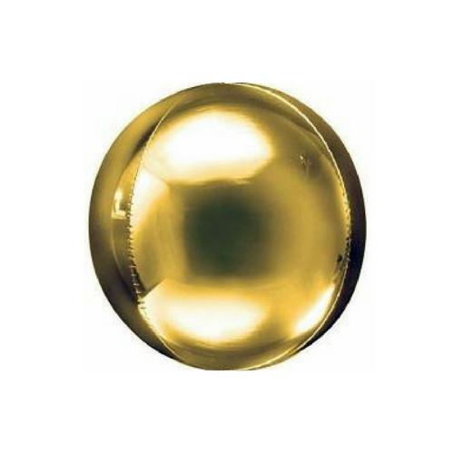 Gold Orbz Balloon