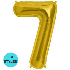 "16"" Number Balloons"