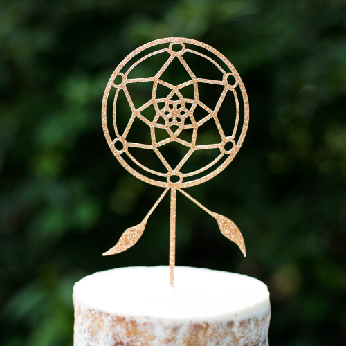 Dream Catcher Cake Topper