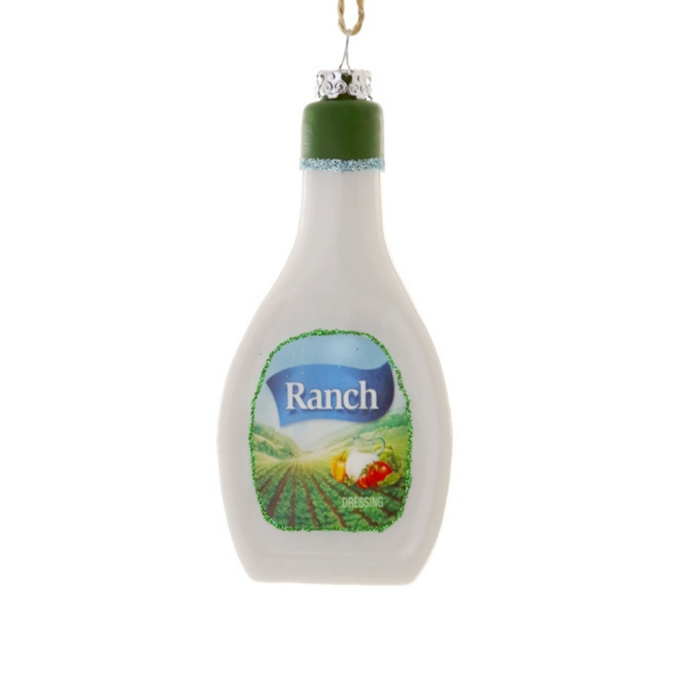 Jollity & Co, Ornament, Ranch Dressing Ornament, Ranch Ornament