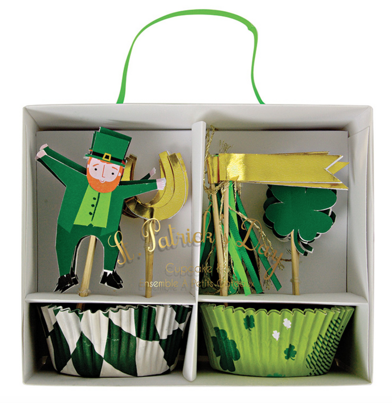 St. Patrick's Day Cupcake Kit