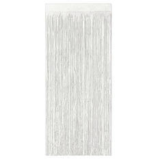 Streamer Curtain white 2ply