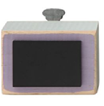 Chalkboard Wood Blocks