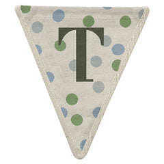 Fabric Bunting Letter T