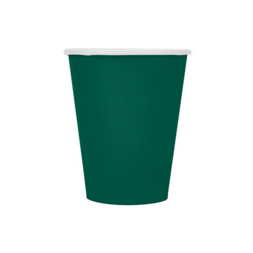 Dark Green 9 oz Cups
