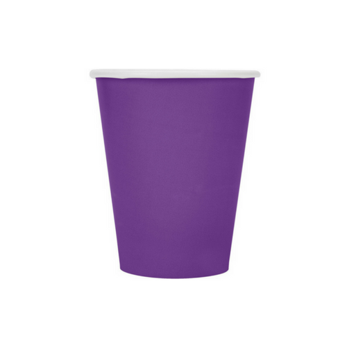 Bright Purple 9 oz Cups