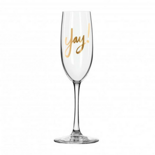 yay champagne flute  u2013 jollity  u0026 co party boutique