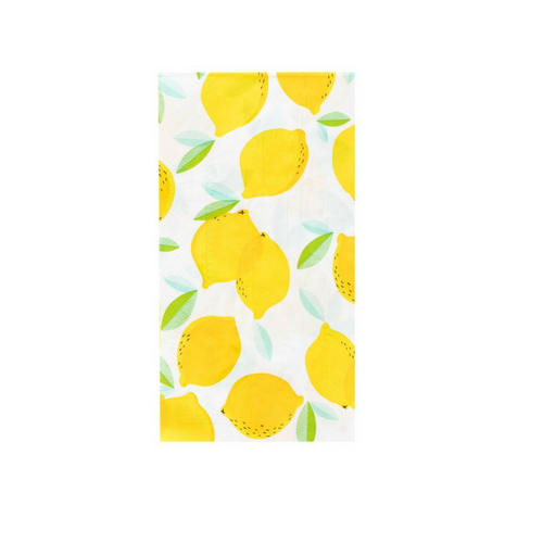 Lemon Guest Napkins
