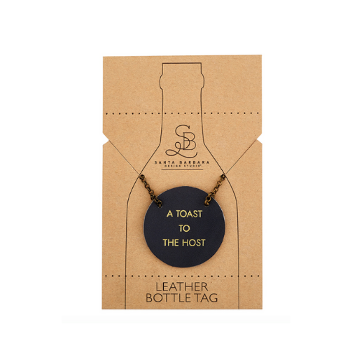 Leather Bottle Tag