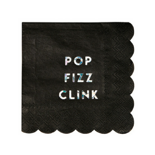 Pop, Clink, Fizz Napkins