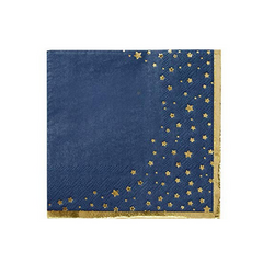 Blue Star Pattern Napkins