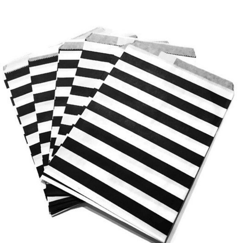 Striped Treat Bags - 7 Styles