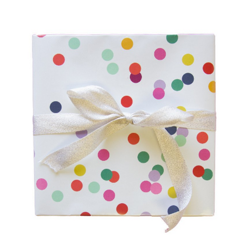 Confetti Patterned Gift Wrap
