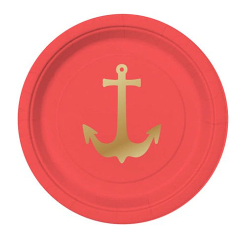 Anchors Away Plate