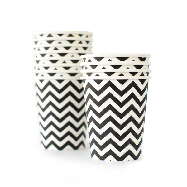 Chevron Black Cup