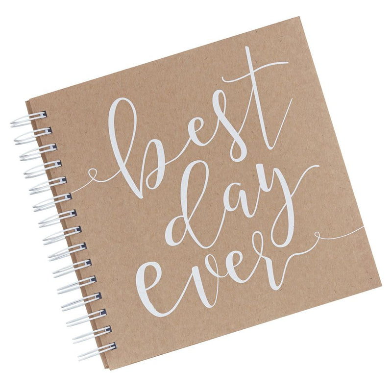 """Best Day Ever"" Mini Envelope Guestbook"