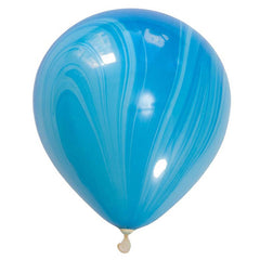 Balloon Pack - Blue Marbled