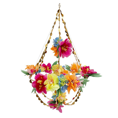 Bright colored Blossom Chandeliers