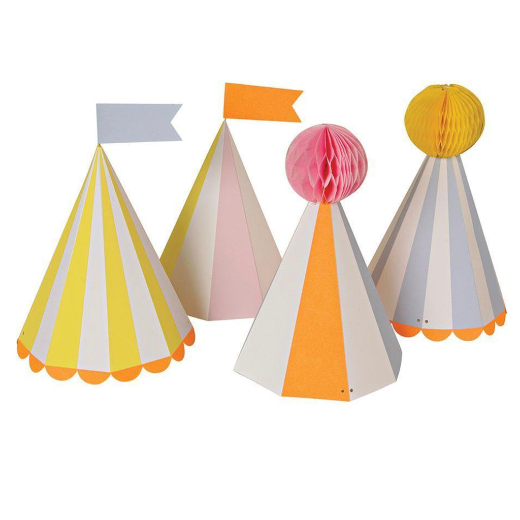 Pastel Circus Party Hats