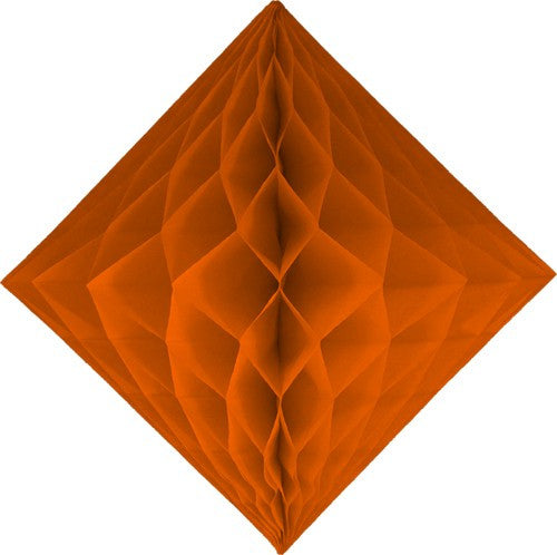 Orange Diamond Honeycombs