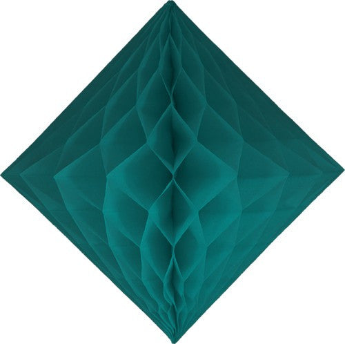 Teal Diamond Honeycombs