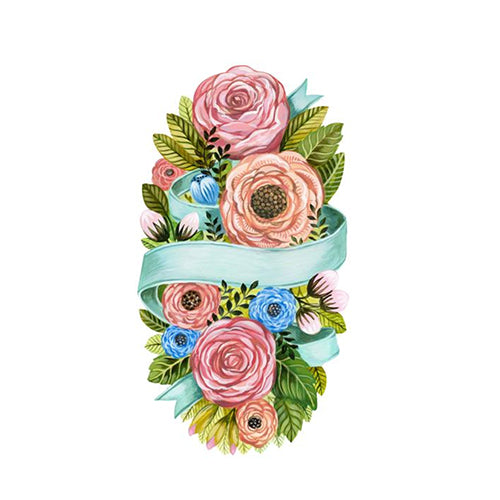 Spring Flower Table Accents or place cards