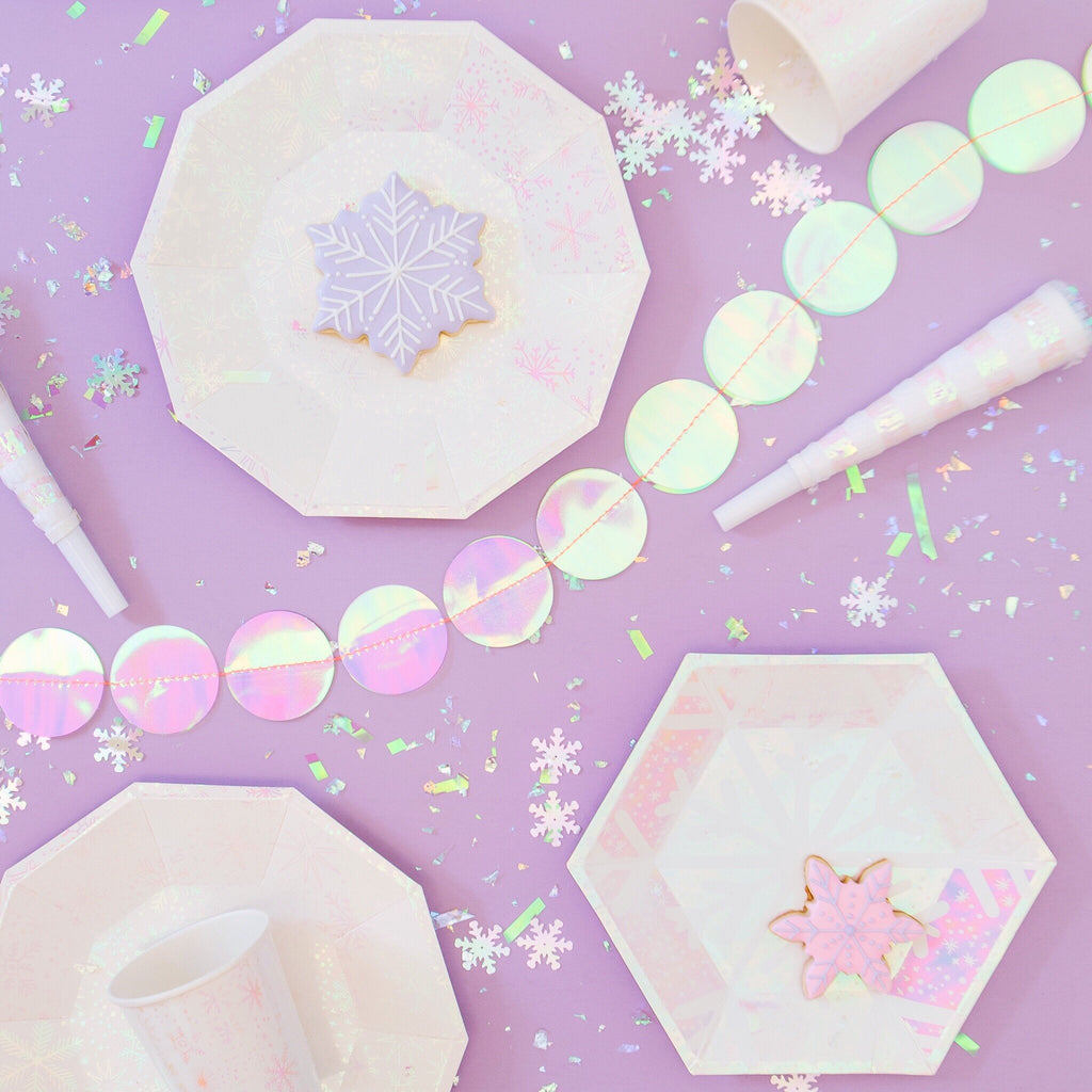 frosted small Plate by Daydream Society