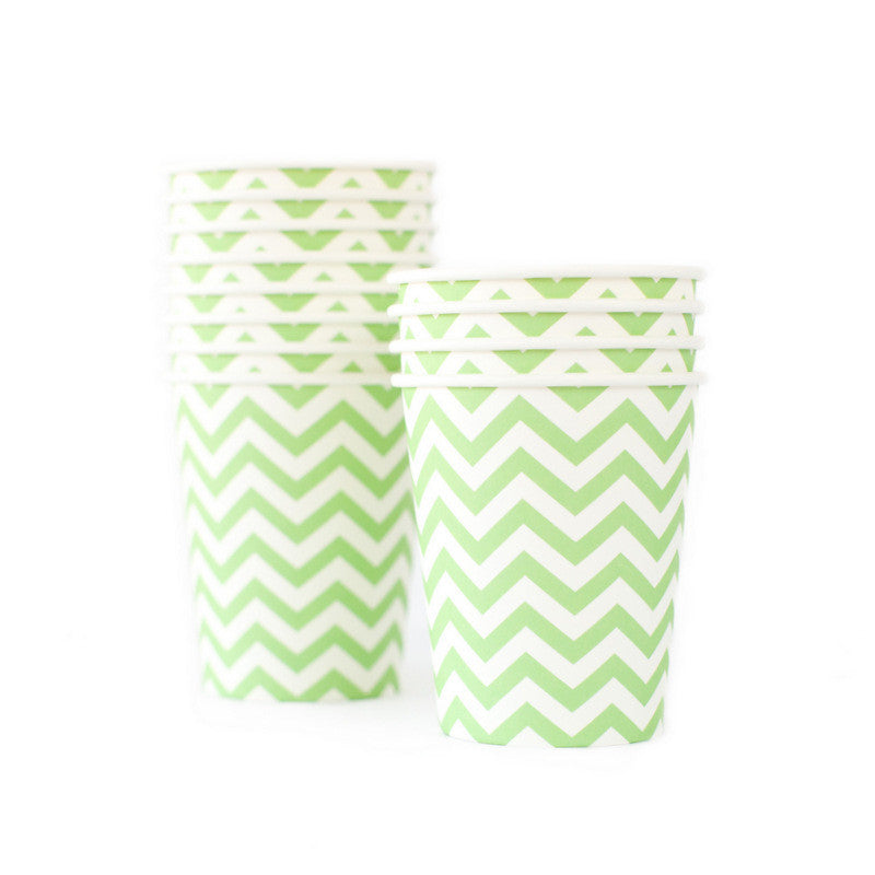 Chevron Green Cup