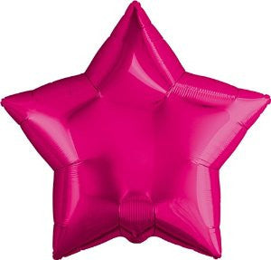 Magenta Star Balloon