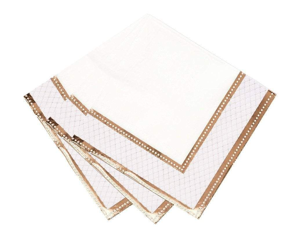 Jollity & Co Rose Gold Napkins