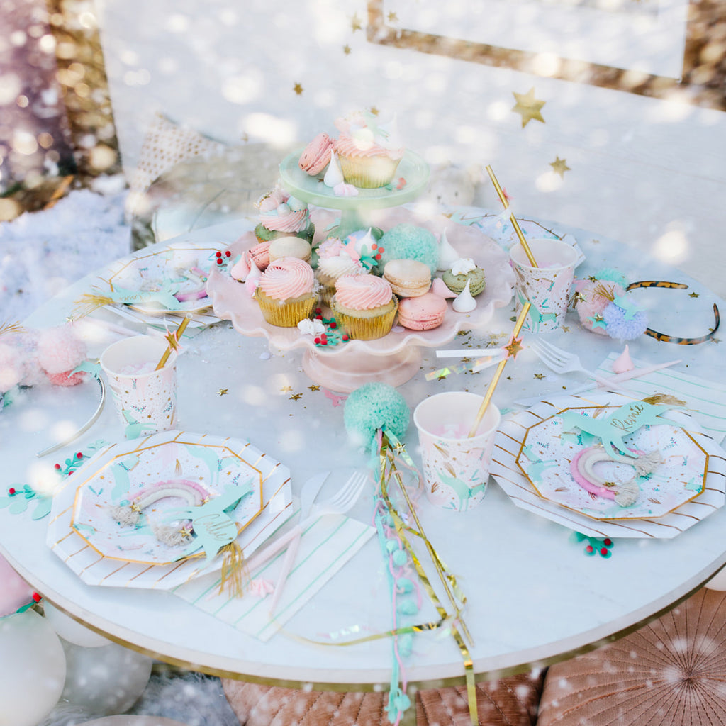 magical christmas small plates from Daydream Society