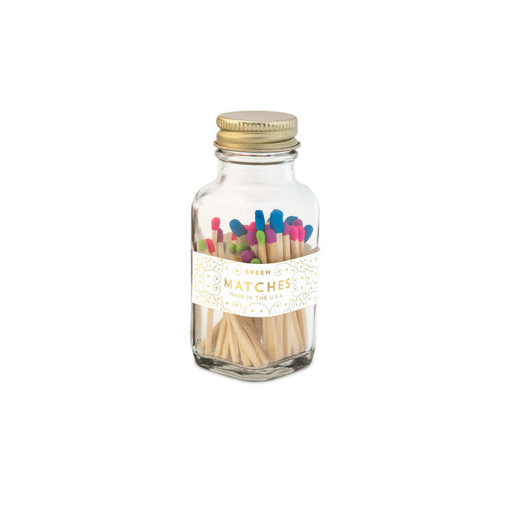 Match Bottles - Multi Colored