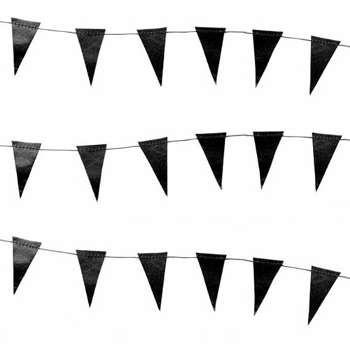 Mini Black Flag Garland