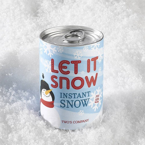 canned snow